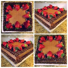 Chocolate Cake w/Fresh Berries!
