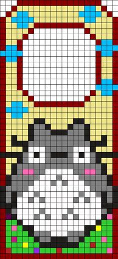 Totoro Door Hanger Perler Bead Pattern