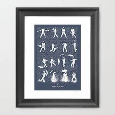 Singin' In The Rain Framed Art Print by Niege Borges - $34.00