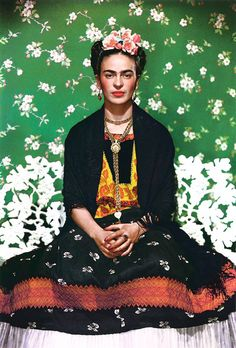 About Tehuana fashion, the inside scoop about Frida's clothes and why she wore what she wore. I didn't know she was an amputee!