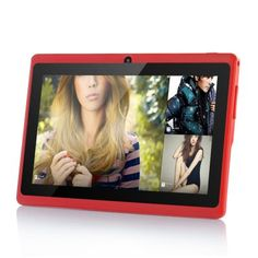 """Budget Android 4.2 Tablet PC """"Lavos II"""" - 7 Inch Screen, 1.2GHz CPU, 512MB RAM, Wi-Fi, 4GB (Red) http://www.chinavasion.com/china/wholesale/Android_Tablets/7_Android_Tablet_PC/Budget_Android_4.2_Tablet_PC_Lavos_II_-_7_Inch_Screen_1.2GHz_CPU_512MB_RAM_Wi-Fi_4GB_Red/"""