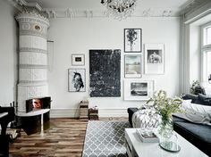 Friday inspiration | Beautiful apartment in Linnéstaden, Gothenburg | Styling by Malin Löfstedt & Linnea Pira, Stil&Rum | Photo by Jonas Berg for Swedish broker Entrance Follow Style and Create at...