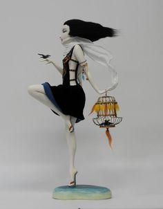 Woman dancing on the shore. The artworks. Yanovskaya Anastasia . Artists. Paintings, art gallery, russian art