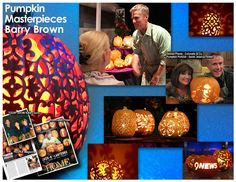 The pumpkins of Barry Brown have been featured on The Today Show, Good Morning America, LIVE with Regis and Kelly, and many movies including Hocus Pocus, and The Santa Clause.  Barry's carvings were also showcased in People Magazine!