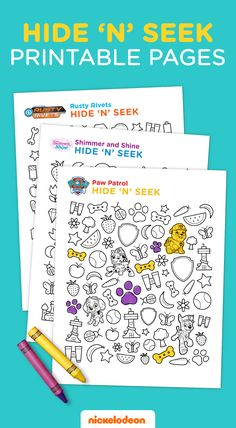 This free printable features fun and educational games your preschooler will love! Practice mathematics and observation skills with the characters of Shimmer and Shine, Rusty Rivets and PAW Patrol.