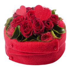 The Endless Love red rose floral arrangement is a creative expression of your love.