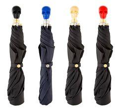 Alexander McQueen Skull handle Umbrellas.