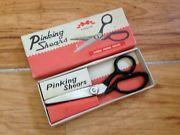 Vintage Pinking shears in original box