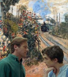 """Polubienia: 1,514, komentarze: 18 – Call Me by Monet (@cmbynmonet) na Instagramie: """"Did you get your passport? . in Arriving at Montegeron by Claude Monet (1876) . . #callmebyyourname…"""""""