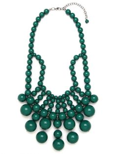 emerald bauble bib #coloroftheyear