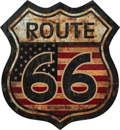 "Rat Rod Decals | 12"" Route 66 American Flag Decal Sticker Junk Yard Rat Rod US ...                                                                                                                                                                                 Mais"