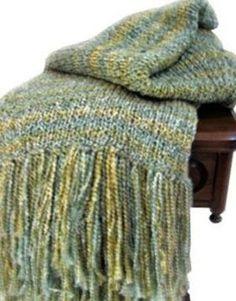 Free Loom Knitting Ideas | Free Loom Pattern: Cozy Loom-Knit Afghan / crochet ideas and tips ...