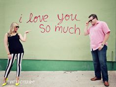 I Love You So Much Engagement Session in Austin, Tx
