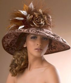 Every Kentucky Derby Hat and Fascinator is Handmade and Unique, no two are exactly the same. Fancy Hats, Cool Hats, Tea Party Hats, Stylish Hats, Kentucky Derby Hats, Church Hats, Wearing A Hat, Wedding Hats, Love Hat