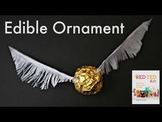 Harry Potter Ideas - Edible Snitch (Christmas Decoration) - YouTube