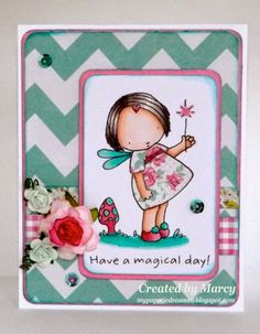 My Paperie Dreams: Loves Rubberstamps Inspiration Day: Have a Magical Day!