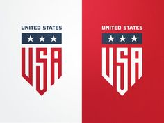 USA Badge by Fraser Davidson