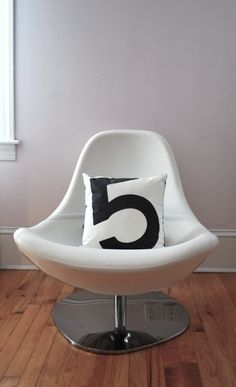 Recycled Sail Throw Pillow - Black number 5 by Katherine NYC. Try this with our Setacolor fabric paint!