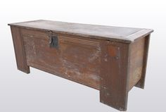 14th century chest, Marhamchurch antiques