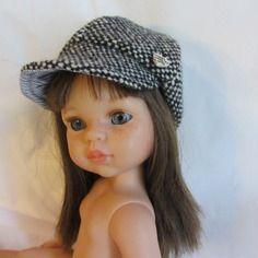 Accessoire poupée : casquette style gavroche pour poupée corolle les chéries