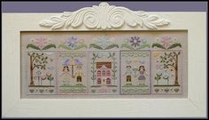 Country Cottage Needleworks - Spring Social Series #4 Lovebird Couple – Stoney Creek Online Store