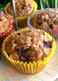 I can't get enough of these Plum Oat Muffins right now. Not only are they deliciously sweet, they're also packed with healthy oats and juicy fresh plums! Donut Recipes, Fruit Recipes, Muffin Recipes, Gourmet Recipes, Dessert Recipes, Cooking Recipes, Breakfast Recipes, Bread Recipes, Gastronomia
