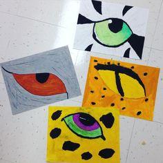 Eye see you  #elementaryart