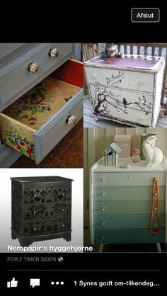 Home decor drawers