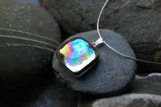 soap bubble glass pendant. $25.00, via Etsy.