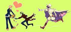 Tags: Ao no Exorcist, Amaimon, Mephisto Pheles, Shima Renzou, Pixiv Id 3298806, Demon Brothers