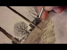 A simple watercolor exercise By Erik Lundgren - YouTube