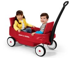 Pull Wagon Radio Flyer 2700Z Pathfinder Toy Folding  Seats Cup Holders Seats New #RadioFlyer