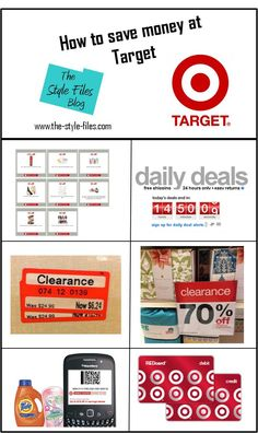 This link actually works! How to save money at Target!   http://the-style-files.com/how-to-save-money-and-score-deals-at-target/