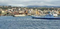 Ferry crossing from Reggio di Calabria to Messina Sicily