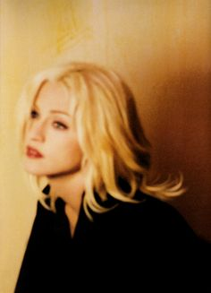 Madonna - Take a Bow video shoot by Frank Micelotta, 1994    I think there's no prettier Madonna than Madonna in this video.