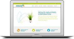 Pàgina web Seduco Industries Esparreguera