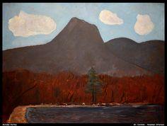 """Mt. Katahdin--November Afternoon,"" Marsden Hartley, 1942, oil on Masonite, 30 x 40"", Nelson-Atkins Museum of Art."