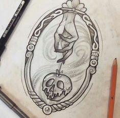 27 Disney-Tattoos, die Sie auch als Erwachsener noch wollen Snow White inspired tattoo design The post 27 Disney-Tattoos, die Sie auch als Erwachsener noch wollen appeared first on Frisuren Tips. Dream Tattoos, New Tattoos, Small Tattoos, Tattoos For Guys, Cool Tattoos, Body Art Tattoos, Fashion Tattoos, Temporary Tattoos, Phoenix Tattoos