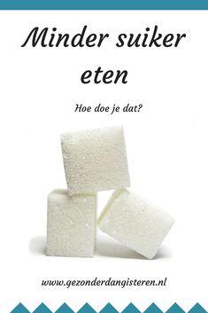 Minder suiker eten, lees hier hoe je dat doet! #suikervrij #gezond Healthy Recipes, Sport, Food, Everything, Deporte, Sports, Essen, Healthy Eating Recipes, Meals
