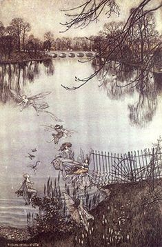"""You just think lovely wonderful thoughts,"" Peter explained, ""and they lift you up in the air."" - James Matthew Barrie 