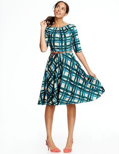 Amy Dress WH696 Dresses at Boden