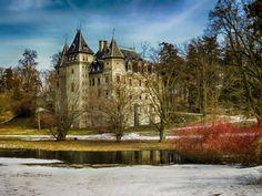 Gołuchów Castle by Jacek Gadomski, via 500px
