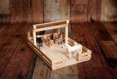 bauen Toy 2 Stall Fenced In Stable Toy Horse Stable, Schleich Horses Stable, Horse Stalls, Play Horse, Popsicle Stick Crafts, Craft Stick Crafts, Crafts For Kids, Imprimibles Baby Shower, Little Busters