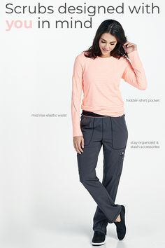 Scrubs designed with you in mind: Shop all scrubs and medical uniforms at Scrubs & Beyond now. Cherokee Scrub Pants, Cherokee Scrubs, Cherokee Brand, Cute Scrubs, Medical Uniforms, Nursing Clothes, Work Wear, Elastic Waist, Looks Great