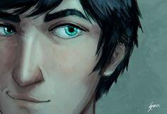 Close up Percy