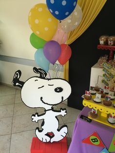 Snoopy party decoration