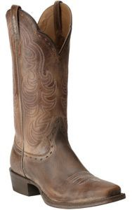 LOVE LOVE LOVE!!!! Ariat Women's Good Times Antique Brown Punchy Square Toe Western Boots | Cavender's