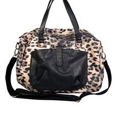 Street Level Animal Tote from LittleBlackBag.com  Black:: Handbag::Tote:: Animal print