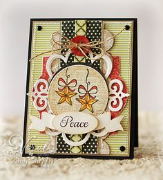 Peace - VLV by PickleTree - Cards and Paper Crafts at Splitcoaststampers
