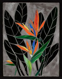 Criativa Arts - Tropical Flowers